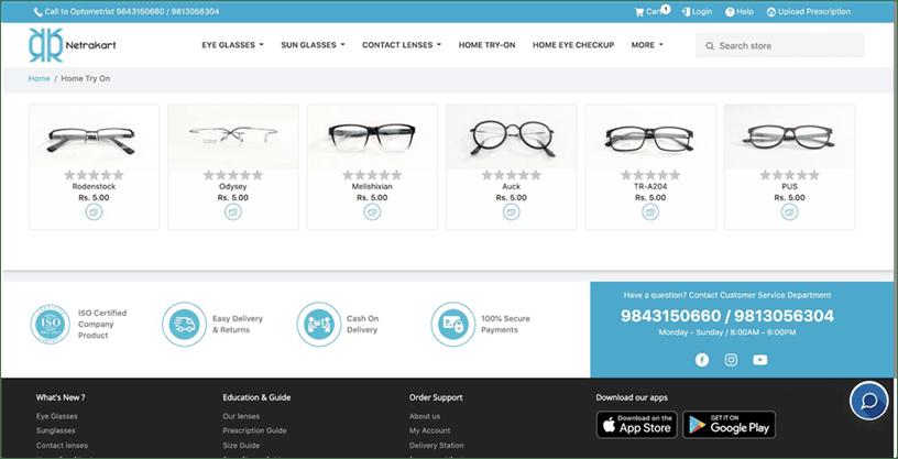 eyewear startups in kathmandu