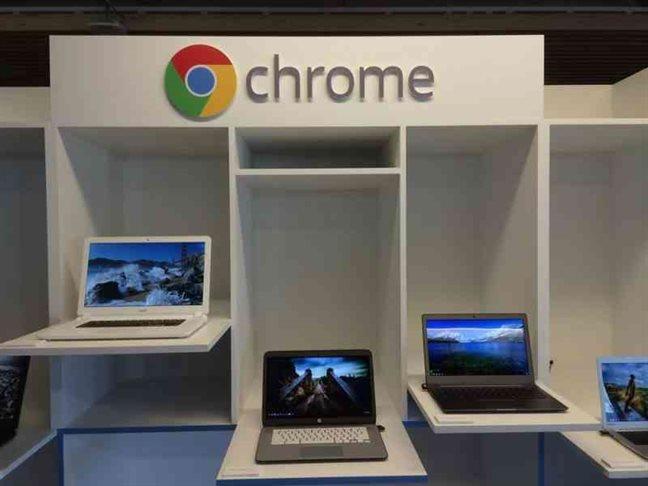 google pushes chrome OS software