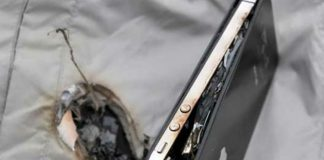 iPhone Battery Explosion