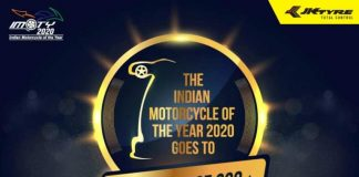 indian motorcycle of the year 2020