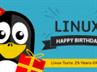 linux 25th happy birthday