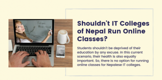 Shouldn't IT Colleges Of Nepal Run Online Classes?