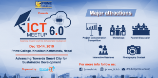Prime College To Host ICT Meetup Version 6.0