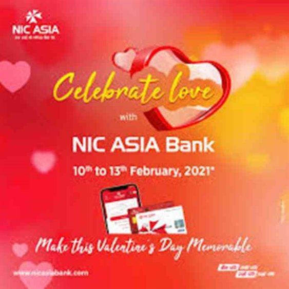 nic asia bank celebrates love day