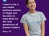 women leaders in nepal